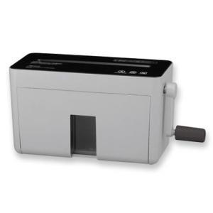 アスカ Asmix ハンドマイクロカットシュレッダー グレー HM-02GR|yasudaclub