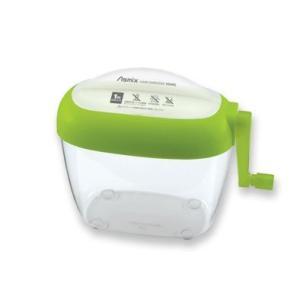 アスカ Asmix ハンドシュレッダー はがきサイズ グリーン HS40G|yasudaclub