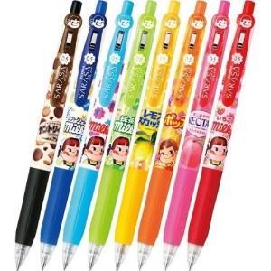 数量限定  ゼブラ 香りつきノック式ジェルボールペン サラサクリップX不二家 JJ29−FJ|yasudaclub