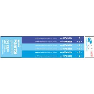 三菱鉛筆 学用鉛筆 三菱鉛筆 学用鉛筆 ユニパレット かきかた 六角軸(パステルブルー) K5560(B)/K5560(2B)|yasudaclub
