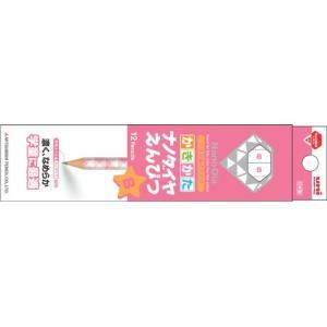 三菱鉛筆 学用鉛筆 ナノダイヤ かきかた 六角軸(ピンク) K6902(B)/K6902(2B)|yasudaclub