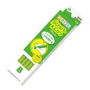 三菱鉛筆 グリッパーえんぴつ (緑)K6903|yasudaclub