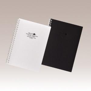 リヒト AQUADROPs ツイストリングノート(A5方眼) N−1659|yasudaclub