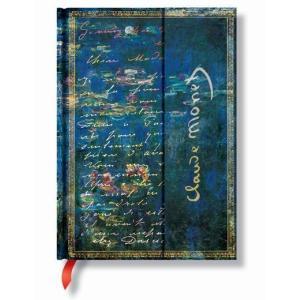 Paperblanks ペーパーブランクス  ノートブック アーティストビジョン ミディ モネ 睡蓮 PB12092|yasudaclub