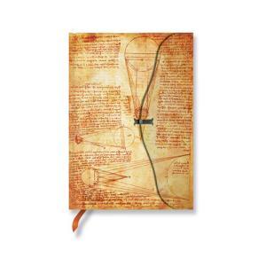 Paperblanks ペーパーブランクス  ダ・ヴィンチ 「レスラー手稿」 (ミニ) ノートブック PB16083|yasudaclub