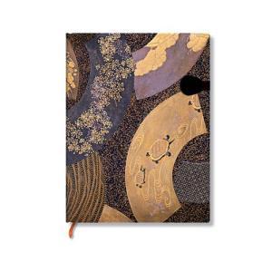 Paperblanks ペーパーブランクス  蒔絵コレクション おうぎ ノートブック ウルトラ PB16472|yasudaclub