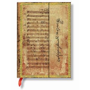 Paperblanks  ペーパーブランクス アーティストビジョンコレクション モーツァルト 狩 ノートブック(ミディ) PB25740 yasudaclub