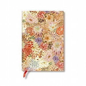 Paperblanks ペーパーブランクス ノートブック 小花詰め ミニアチュール by亀江道子 ミディ PB36180|yasudaclub