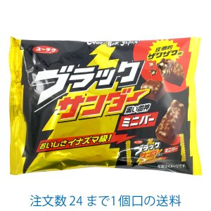 ブラックサンダーミニバー 173g 有楽製菓|yasui-shouten
