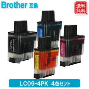 brother LC09-4PK 4色セット ブラザー 対応 互換インクカートリッジ 送料無料|yasuichi