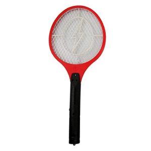 電気のパワーでハエ・蚊を撃退! 持ちやすく、扱いやすいラケットタイプ♪ 軽量なので女性でもラクラク一...