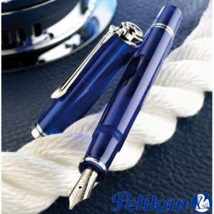 Pelikan ペリカン 特別生産品 万年筆 スーベレーンM605マリーンブルー