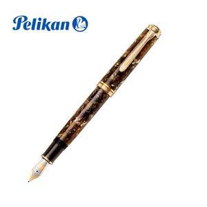 ペリカン万年筆 Pelikan  特別生産品 スーベレーンM800 ルネッサンスブラウン|yasukaunet