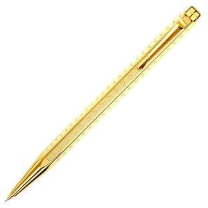 CARAN d'ACHE カランダッシュ ペンシル エクリドールコレクション シェブロン ゴールド 0004-208|yasukaunet