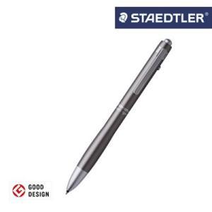 【メール便可】ステッドラー アバンギャルド多機能ペン チタニウムグレイ 927AG-TG