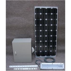 発電くん85・ベランダ太陽光発電キット(85W):家庭用蓄電池・非常用電源|yasukawa