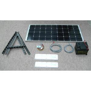 ソーラーLED照明キット90W:ベランダ太陽光発電・家庭用蓄電池|yasukawa