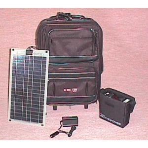 パワーステーション1.0:携帯型ソーラー電源|yasukawa