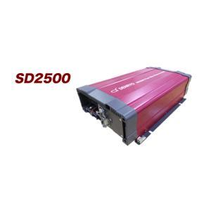 SD2500-124:DC-AC正弦波インバーター 24V入力 100V出力|yasukawa