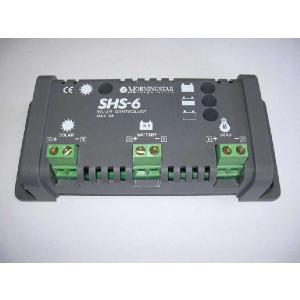 SHS-6:太陽電池(ソーラーパネル)用充電・放電コントローラー|yasukawa