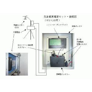 太陽電池電源セット(WS-003、WS-004、WS-005用)ボックス無し|yasukawa