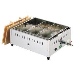 18-8 関東煮鍋 (マッチ点火) 尺4((ガス種:プロパン...