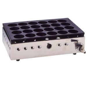 ジャンボたこ焼器 Y-20B大玉 13A  たこ焼き たこ焼台 ガス式 業務用厨房機器厨房用品専門店...