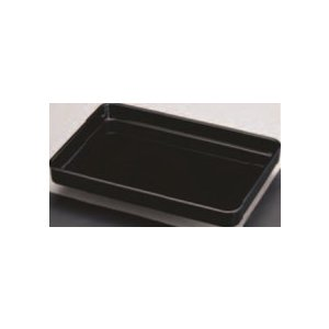 賞状盆軽量 木質(黒) 尺8寸