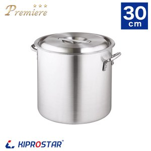 寸胴鍋 プレミア アルミ 業務用 30cm KIPROSTAR 鍋 カレー鍋 スープ 寸胴 アルミ鍋|yasukichi