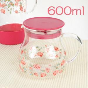 ティーポット ガラス 茶こし付き 600ml 耐熱ガラス おしゃれ 選べる5種