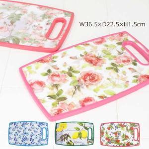 まな板 プラスチック カッティングボード おしゃれ 花柄 全5種