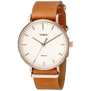 [タイメックス] 腕時計 ウィークエンダーフェアフィールド TW2P91200 正規輸入品 ブラウン|yasuraka