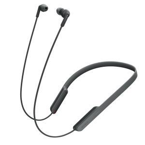 ソニー SONY ワイヤレスイヤホン MDR-XB70BT : Bluetooth対応 リモコン・マイク付き ブラック MDR-XB70BT B|yasuraka