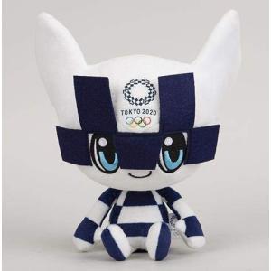 東京2020オリンピック マスコット ぬいぐるみ 公式グッズ (M) ミライトワ|yasyabou