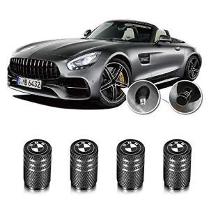 バルブキャップ ために BMW 車, Qingtech for BMW バルブキャップ 車 エアー バルブ キャップ 車用メタル 腐食 防止 4|yasyabou