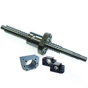 ボールねじSFU1605 300mm 軸端末加工 C7精度1605ボールスクリュー ナットBK/BF12サポートユニットカプリング メカニカ|yasyabou