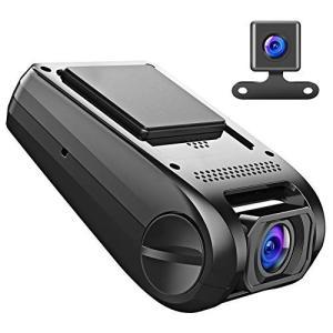 【進化版】APEMAN ドライブレコーダー ドラレコ 前後カメラ デュアルレンズ 1200万画素 1...