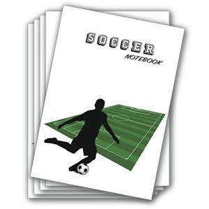 サッカーノート B5 5冊セット|yasyabou