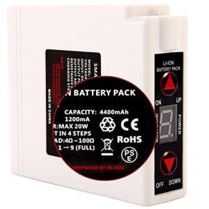 SAIMA(サイマ) 空調作業服用 バッテリー 4200mAh大容量 4段階調整可能|yasyabou