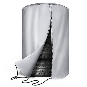 [Mr.You] 保管中のタイヤを雨風ホコリ、汚れから守れます!タイヤカバー タイヤ収納 防水 雨よけカバー オフシ|yasyabou