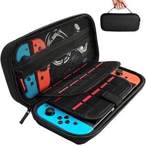 [Nintendo Switch対応] Nintendo Switch専用の保護ケース, 任天堂スイッチ用のキャリングケース,外出や旅行用収納バッグ|yasyabou