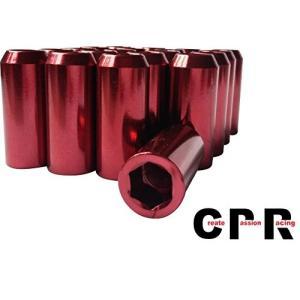 品質の良い合金鉄内六角ホイルナット(inner hex ) 48mm inner hex M12 * 1.5赤|yasyabou