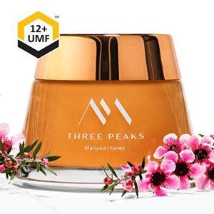 Three Peaks マヌカハニー 協会認定 UMF 12 200g ニュージーランド産 100% 天然 純粋 マヌカ蜂蜜 プレミアム|yasyabou