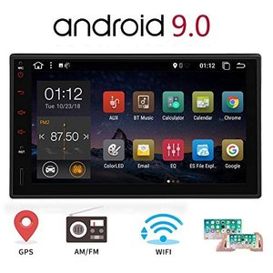 Android 10.0カーステレオ7インチ2 Din GPSナビゲーションタッチスクリーン付きダブ...
