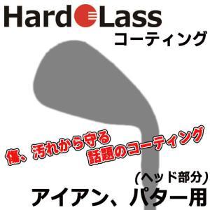 Hardolass [ハドラス] ガラスコーティング 【アイアン、ウェッジ、パター(各1本用)】