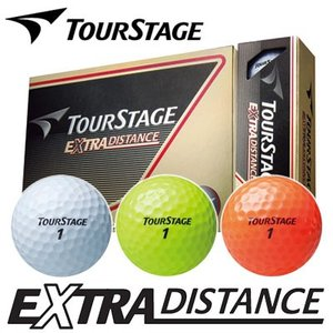 ブリヂストン TOURSTAGE [ツアーステージ] EXTRA DISTANCE ゴルフボール (1ダース:12球)
