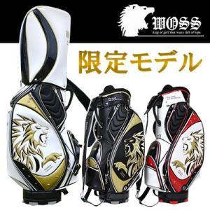 WOSS [ウォズ] ゴルフ キャディバッグ WPC-16X