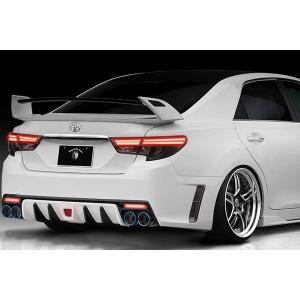 ROWEN PREMIUM Edition リアウィング FRP+WetCarbon製 塗装済 トヨタ マークX G's 2WD GRX133用 1T010W10#|yatoh2