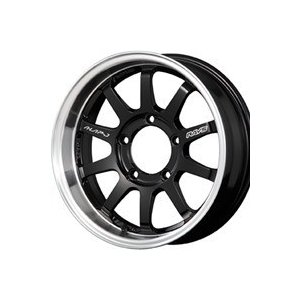 レイズ KCデコール A●LAP-J 6J-16 と トーヨー OPEN COUNTRY R/T 215/70R16の4本セット yatoh