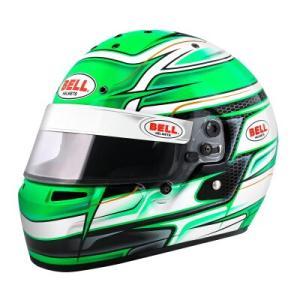 BELL ヘルメット KARTシリーズ KC7 CMR VENOM カラー:グリーン yatoh
